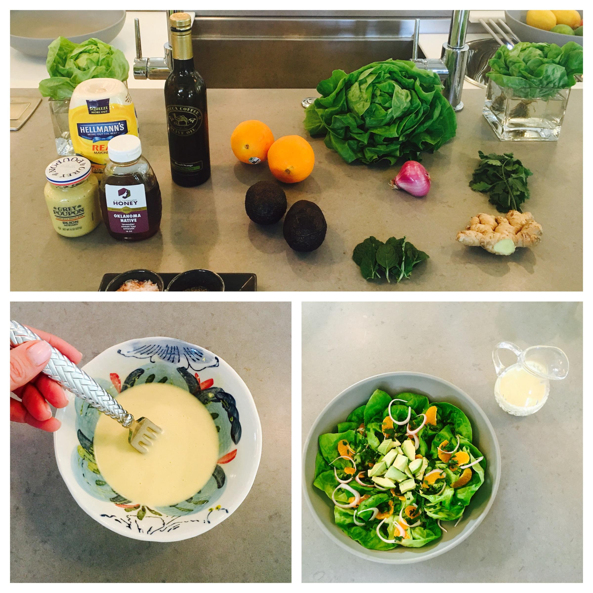 Recipes - Avocado Orange Butterhead Salad