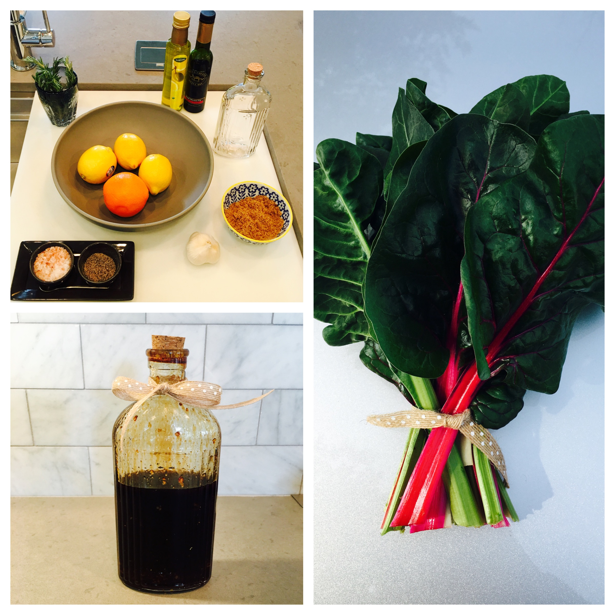 Recipes - Citrus Balsamic Vinaigrette