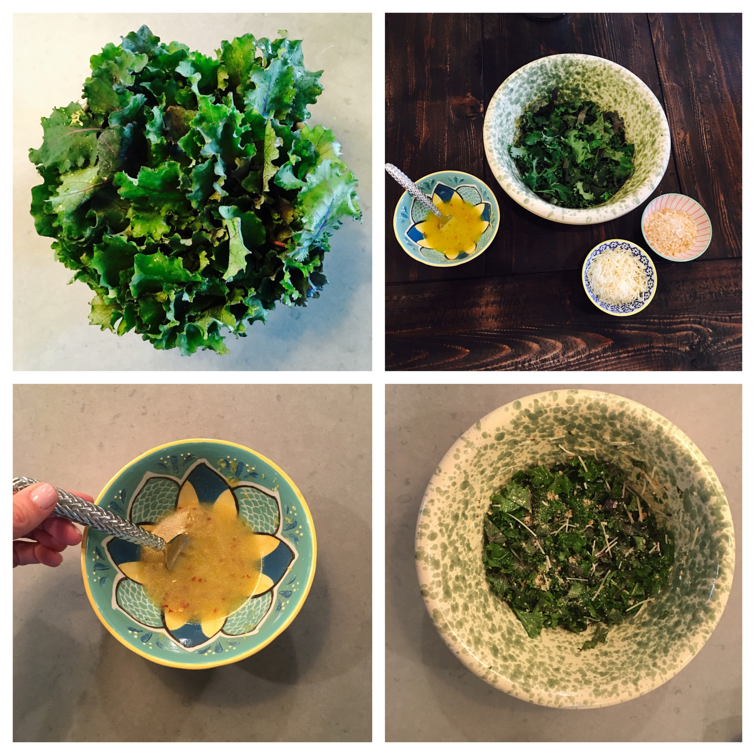 Recipes - Sage Farms Lemony Kale Salad