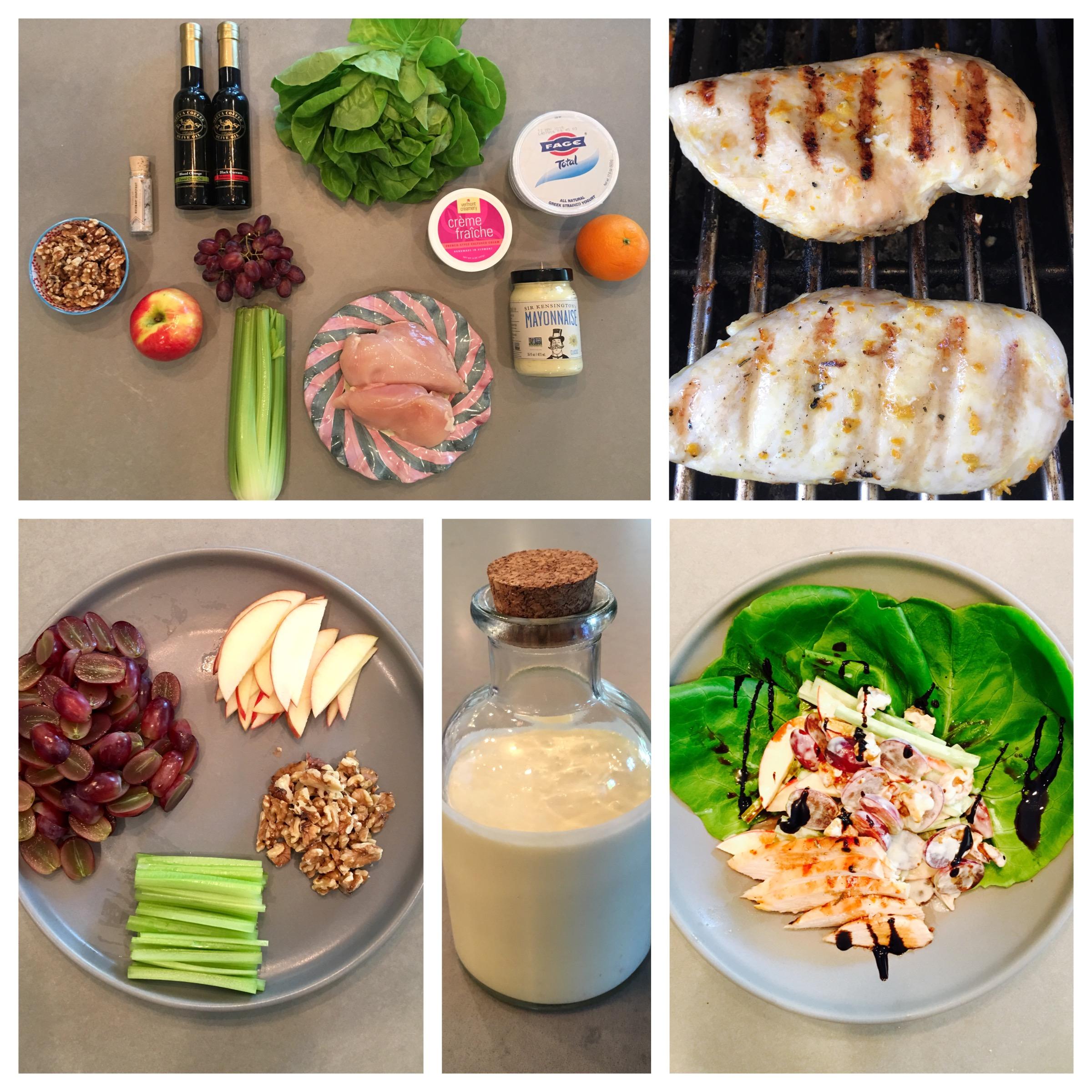 Sage Farm's Grilled Chicken Waldlorf Salad